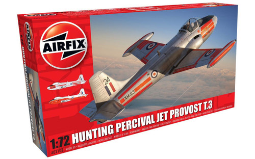 Airfix 1/72 Hunting Percival Jet Provost T.3/T.3a