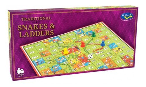 Traditional Snakes & Ladders