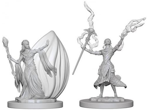 Dungeons & Dragons Nolzurs Marvelous - Elf Female Wizard