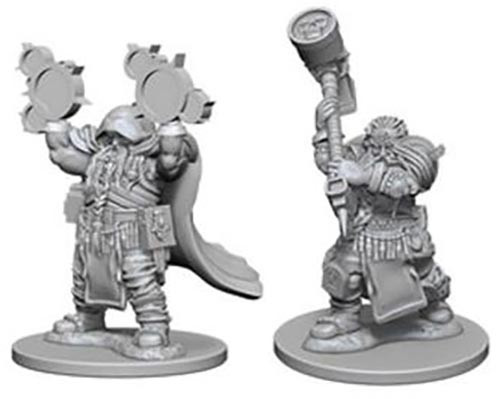 Dungeons & Dragons Nolzurs Marvelous Dwarf Male Cleric