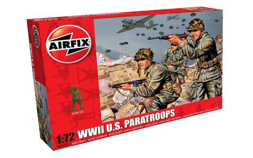 Airfix WWII U.S. Paratroops