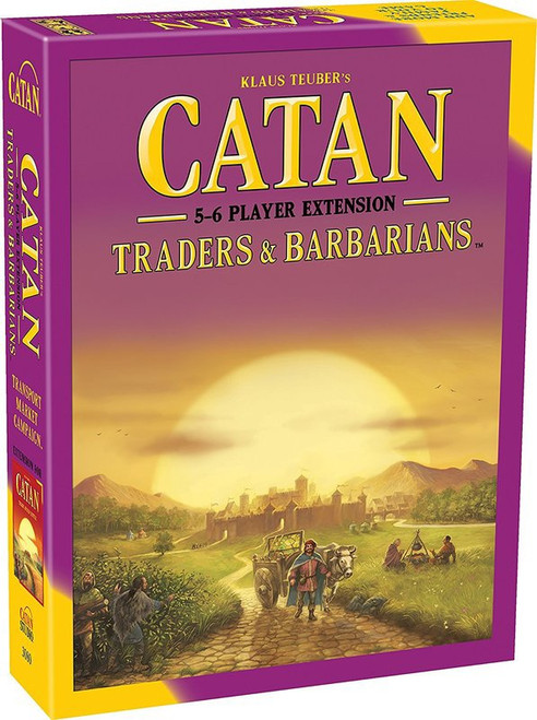 Catan Traders & Barbarians 5-6 Extension