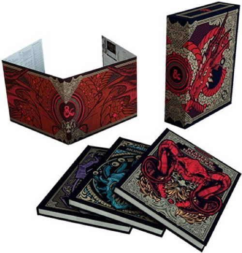Dungeons and Dragons 5th Edition Gift Set Exclusive Edition