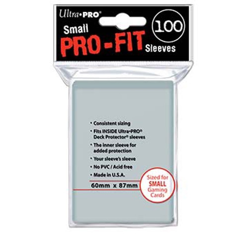Ultra Pro Pro-Fit Small Size Deck Protectors (100ct)