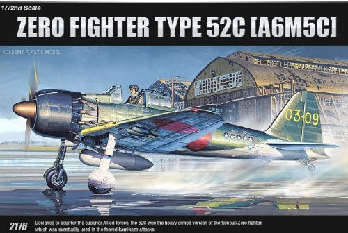 Academy 1/72 A6M5c Zero Fighter Type 52C