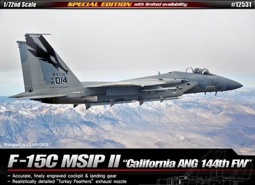 "Academy 1/72 F-15C MSIP II ""California ANG 144th Fighter Wing Ltd Etdn"