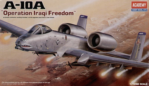 "Academy 1/72 A-10 Thunderbolt ""Operation Iraqi Freedom"""