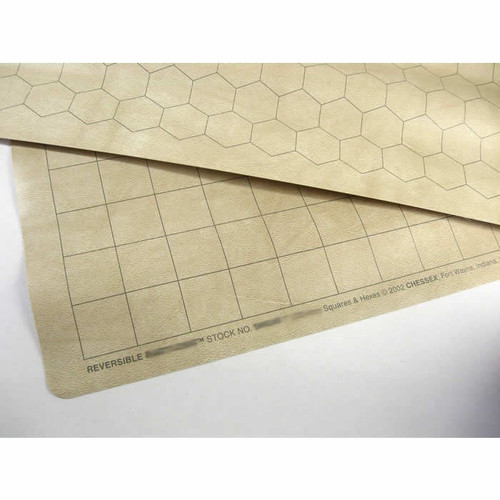 Chessex Reversible Battlemap 1 inch Hexes and Squares
