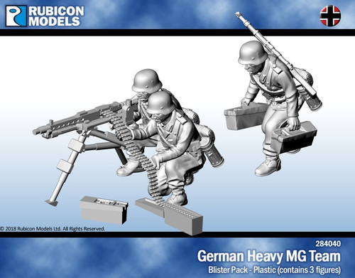 Rubicon 1/56 - German Heavy MG Team