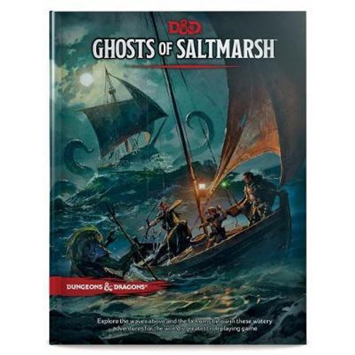 Dungeons & Dragons - Ghosts of Saltmarsh