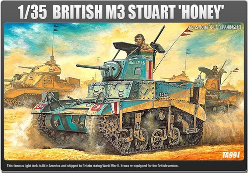 "Academy 1/35 M3 Stuart ""Honey"""