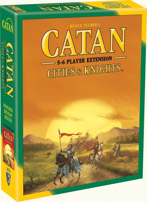 Catan: Cities & Knights - 5-6 Player - Extension