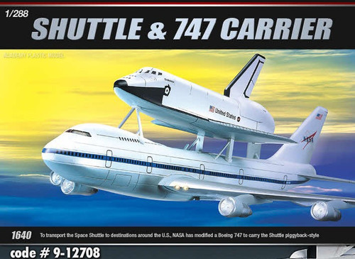 Academy 1/288 Space Shuttle 747 Transport