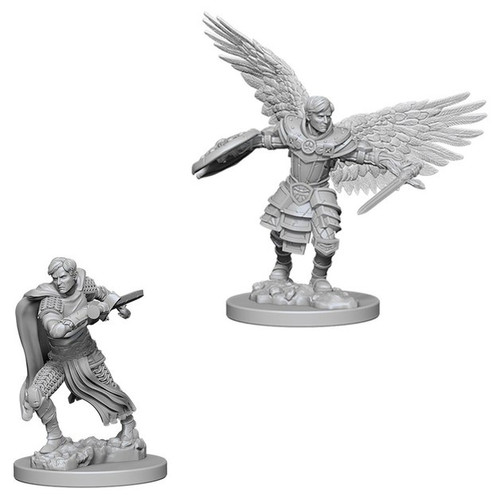 Dungeons & Dragons Nolzurs Marvelous - Aasimar Male Fighter