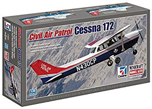 Minicraft 1/48 Cessna 172 Civil Air with 2 Decal Options