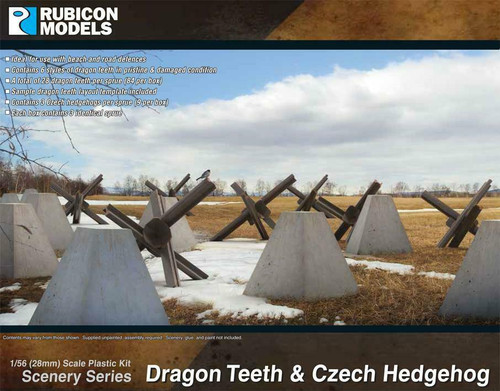 Rubicon 1/56 Dragon Teeth & Czech Hedgehog