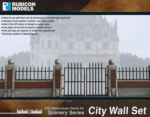 Rubicon 1/56 City Wall Set