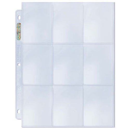 9-Pocket Protective Pages