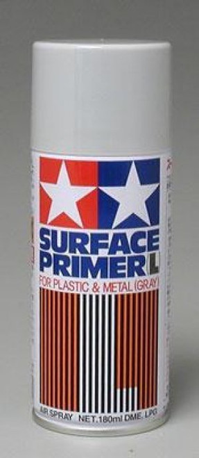 Tamiya Surface Primer Gray - 180ml Spray Can