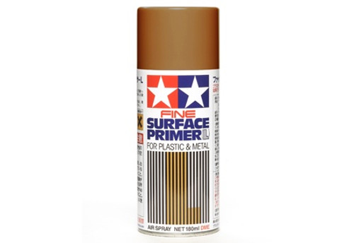 Tamiya Fine Surface Primer L - Oxide Red