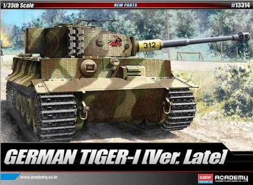 Academy 1/35 Tiger 1 (Late Version)