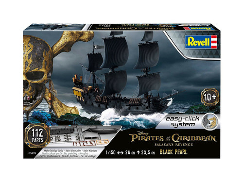 Revell 1/150  Pirates Of The Caribbean - The Black Pearl