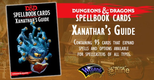 Dungeons & Dragons Spellbook Cards: Xanathars Guide