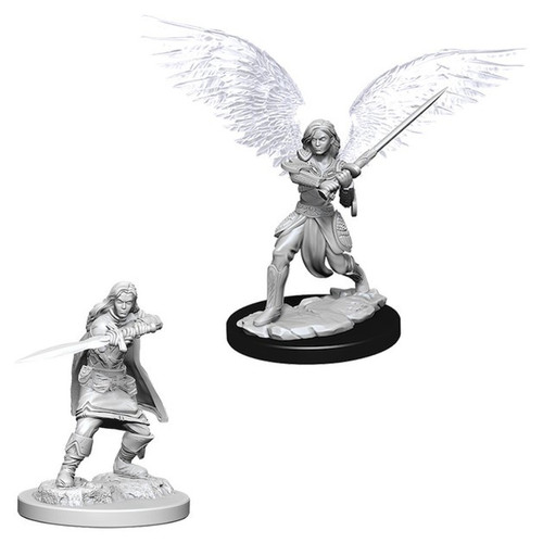 Dungeons & Dragons Nolzurs Marvelous - Aasimar Female Fighter