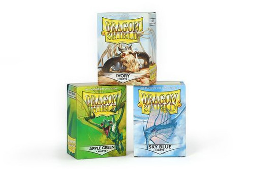 Dragon Shield Standard Matte Sleeves (100CT)