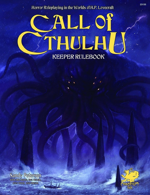 Call of Cthulhu - Keeper Rulebook 7th Edition