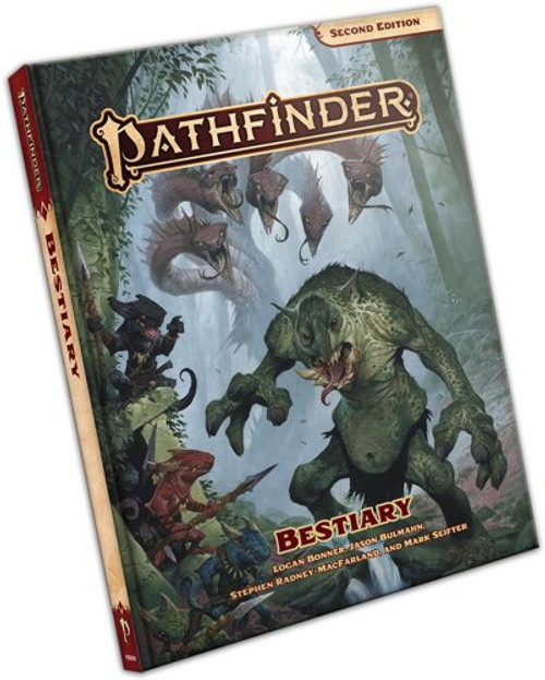 Pathfinder 2nd Edition - Bestiary