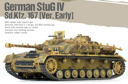 Academy 1/35 German StuG IV Sd.Kfz.167 [Ver.Early]
