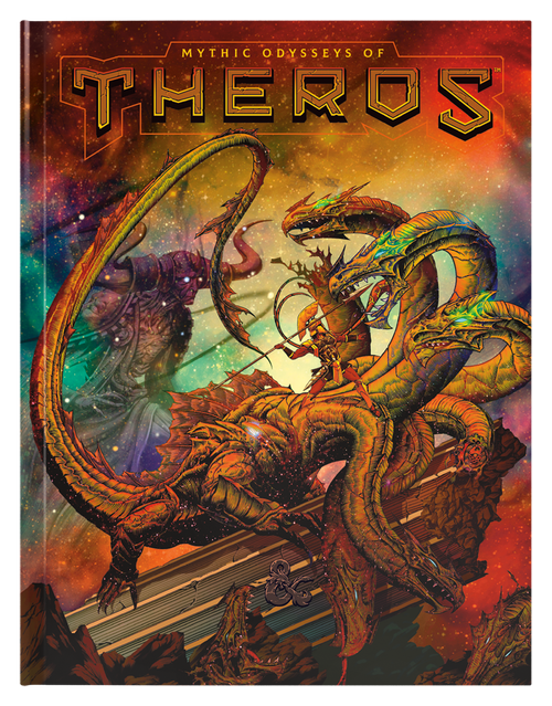 Dungeons & Dragons - Mythic Odysseys of Theros (Exclusive Cover Edition)