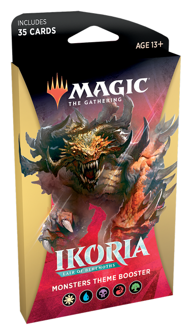 Ikoria: Lair of the Behemoth - Theme Boosters
