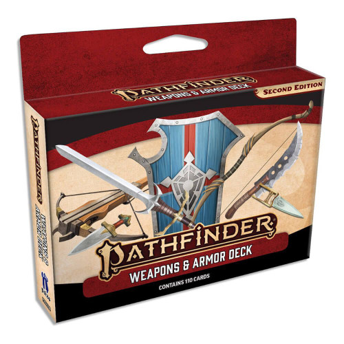Pathfinder 2nd Edition - Weapons & Armor Deck