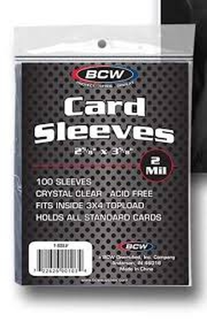 BCW Penny Sleeves (100) Clear