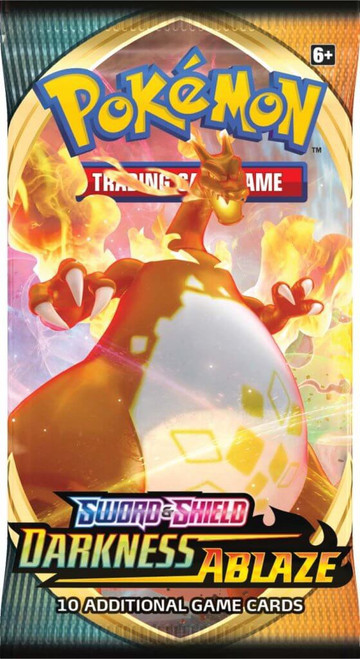 Pokemon: Sword and Shield - Darkness Ablaze Booster