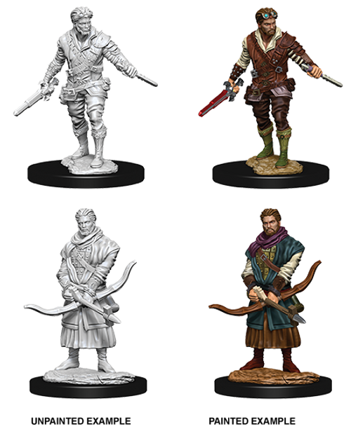 Dungeons & Dragons Nolzur's Marvelous - Male Human Rogue