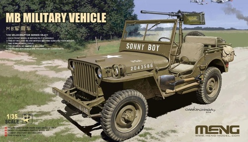 Meng 1/35 Willys Jeep MB military vehicle