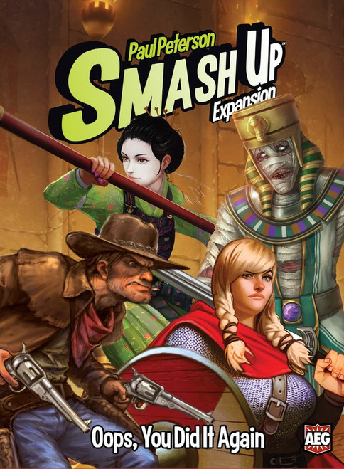 Smash Up - Oops, You Dit It Again