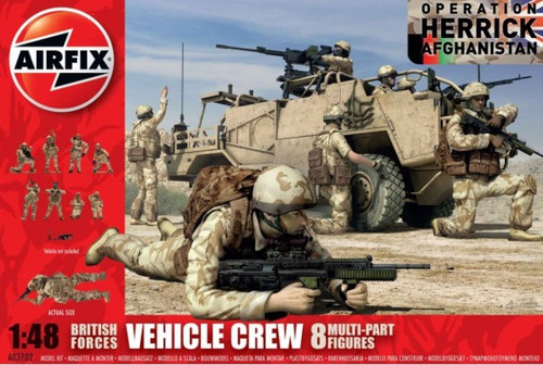 Airfix 1/48 British Forces Vehicle Crew Figure