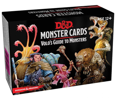Dungeons & Dragons Monster Cards - Volos Guide to Monsters