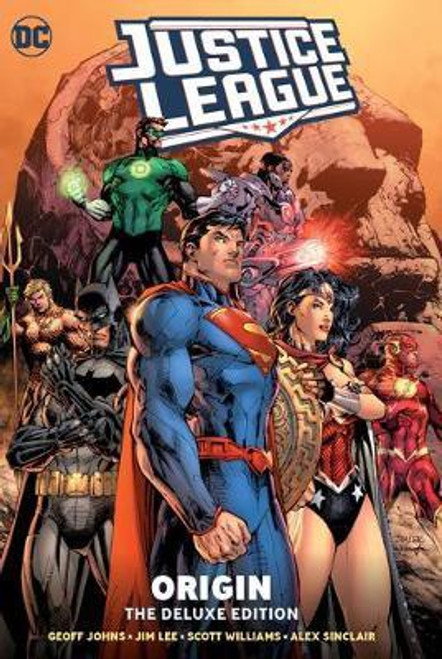 Justice League: Origin Deluxe Edition