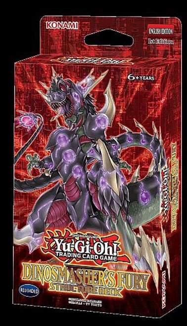 Yu-Gi-Oh Structure Deck:Dinosmasher's Fury - Reloaded