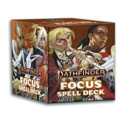 Pathfinder 2nd Edition Spell Cards - Focus