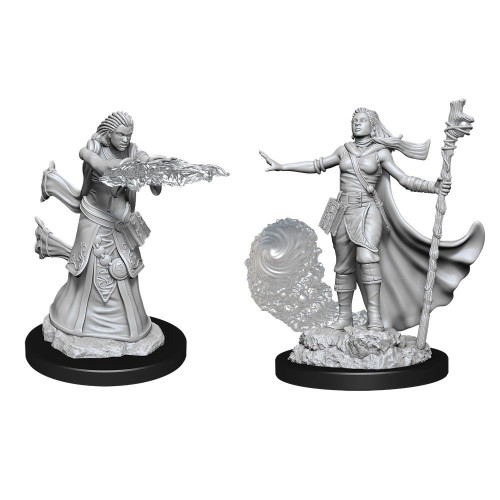 Dungeons & Dragons Nolzur's Marvelous - Female Human Wizard