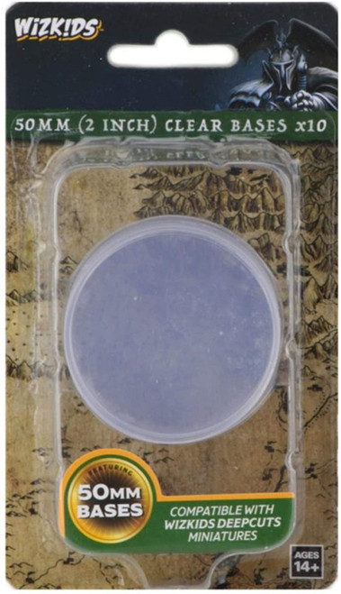 Pathfinder Deep Cuts - Clear 50mm Round Base 10ct