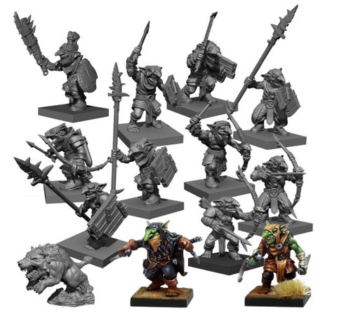 Kings of War Vanguard - Goblin Warband Set
