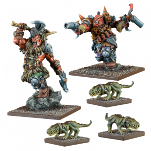 Kings of War Vanguard - Ogre Warband Booster