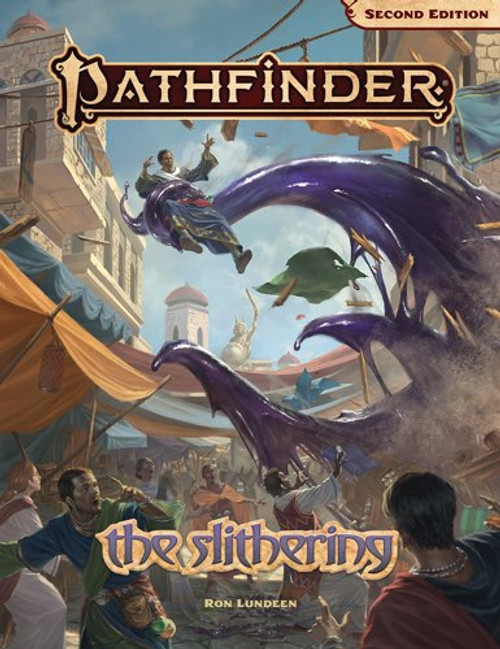 Pathfinder Adventure - The Slithering  (2nd Edition)